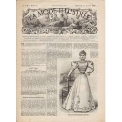 Revue complète de La Mode Illustrée 1897 N°03