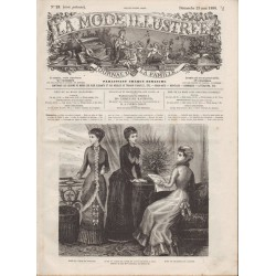Revue complète de La Mode Illustrée 1880 N°21