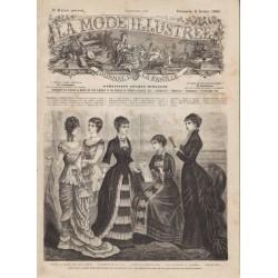 Complete magazine La Mode Illustrée 1880 N°06