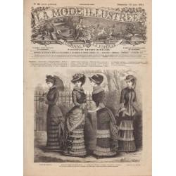 Complete magazine La Mode Illustrée 1881 N°25