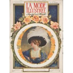 Complete magazine La Mode Illustrée 1910 N°02