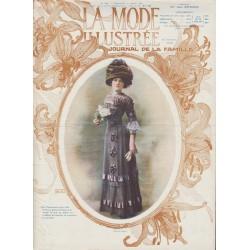 Complete magazine La Mode Illustrée 1910 N°13