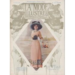 Complete magazine La Mode Illustrée 1910 N°14
