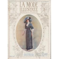 Complete magazine La Mode Illustrée 1912 N°19