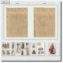 Sewing patterns La Mode Illustrée 1898 N°14