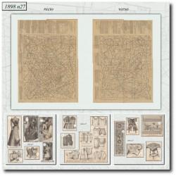 Sewing patterns La Mode Illustrée 1898 N°27