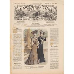 Revue complète de La Mode Illustrée 1901 N°04