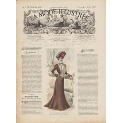 Complete magazine La Mode Illustrée 1901 N°09