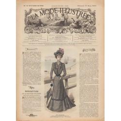 Revue complète de La Mode Illustrée 1901 N°13