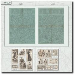 Sewing patterns La Mode Illustrée 1901 N°19