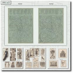 Sewing patterns La Mode Illustrée 1901 N°22