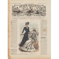 Complete magazine La Mode Illustrée 1901 N°22