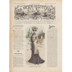 Complete magazine La Mode Illustrée 1901 N°28