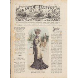 Revue complète de La Mode Illustrée 1901 N°28