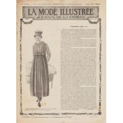 Revue complète de La Mode Illustrée 1917 N°14