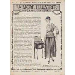 Complete magazine La Mode Illustrée 1917 N°12