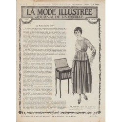 Revue complète de La Mode Illustrée 1917 N°12