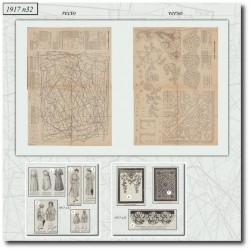 Sewing patterns coat 1917 N°32