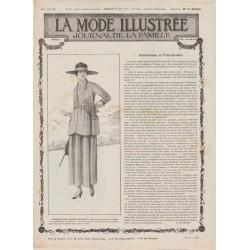 Complete magazine La Mode Illustrée 1917 N°32