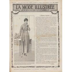 Complete magazine La Mode Illustrée 1917 N°36