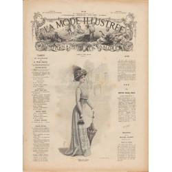 Complete magazine La Mode Illustrée 1909 N°10