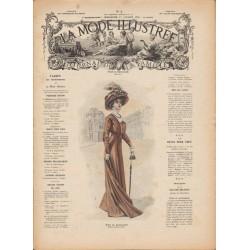 Complete magazine La Mode Illustrée 1909 N°03