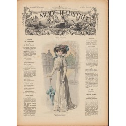 Complete magazine La Mode Illustrée 1909 N°07