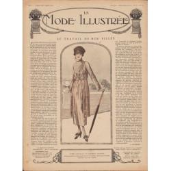 Complete magazine La Mode Illustrée 1919 N°13