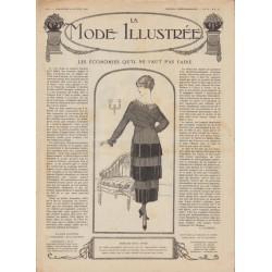 Complete magazine La Mode Illustrée 1919 N°02