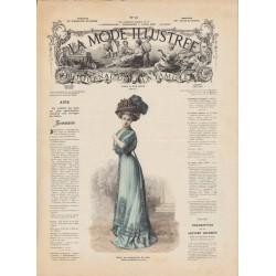 Revue complète de La Mode Illustrée 1908 N°14