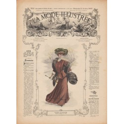 Complete magazine La Mode Illustrée 1907 N°43