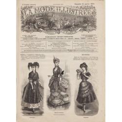 Complete magazine La Mode Illustrée 1883 N°03