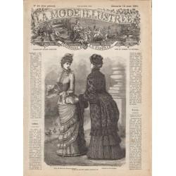 Complete magazine La Mode Illustrée 1883 N°11