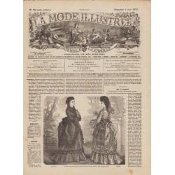Revue complète de La Mode Illustrée 1872 N°18