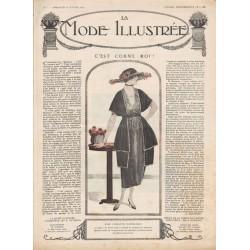 Complete magazine La Mode Illustrée 1920 N°07