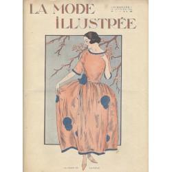 Complete magazine La Mode Illustrée 1923 N°07