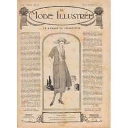 Revue complète de La Mode Illustrée 1920 N°14