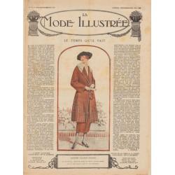 Complete magazine La Mode Illustrée 1920 N°13