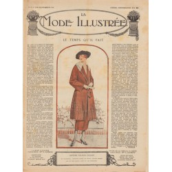 Revue complète de La Mode Illustrée 1920 N°13