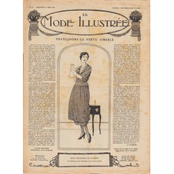 Complete magazine La Mode Illustrée 1920 N°12