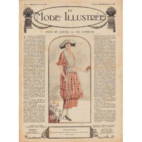 Complete magazine La Mode Illustrée 1920 N°29