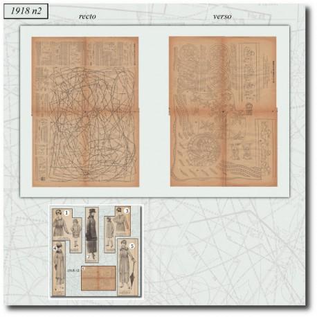 Sewing patterns 1918 N°04