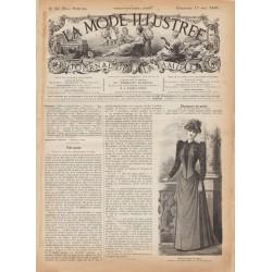 Complete magazine La Mode Illustrée 1891 N°20