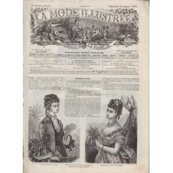 Complete magazine La Mode Illustrée 1874 N°03