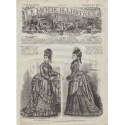 Revue complète de La Mode Illustrée 1874 N°14