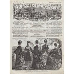 Complete magazine La Mode Illustrée 1874 N°16