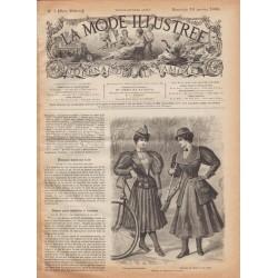 Revue complète de La Mode Illustrée 1896 N°3
