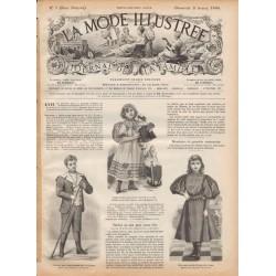 Dress La Mode Illustrée 1896 N°5