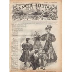 Revue complète de La Mode Illustrée 1896 N°7