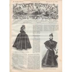 Revue complète de La Mode Illustrée 1896 N°12